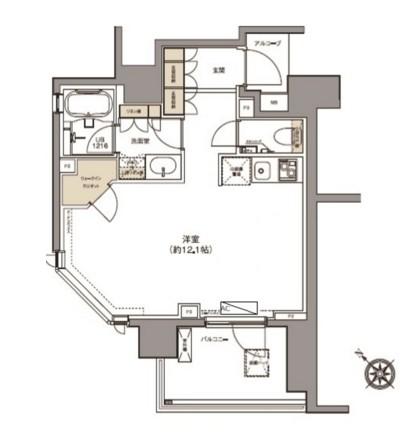 ガーデニア赤坂202号室