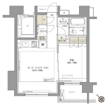 ガーデニア赤坂302号室