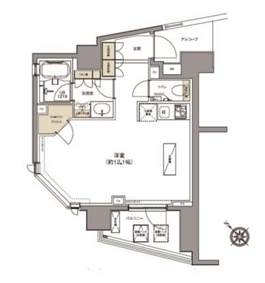 ガーデニア赤坂401号室