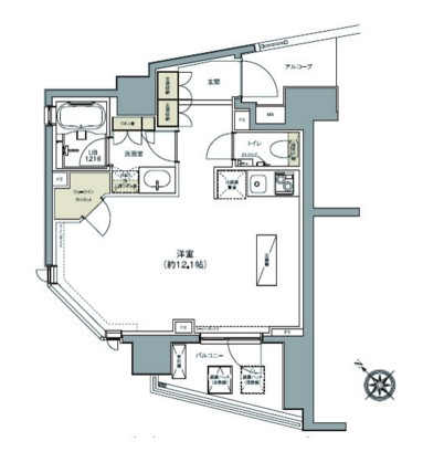 ガーデニア赤坂501号室