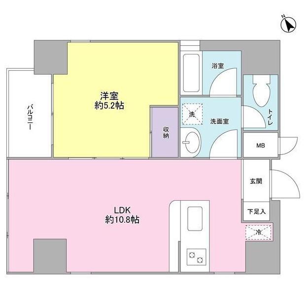 ミュールメゾン西新宿1001号室