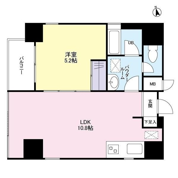 ミュールメゾン西新宿601号室