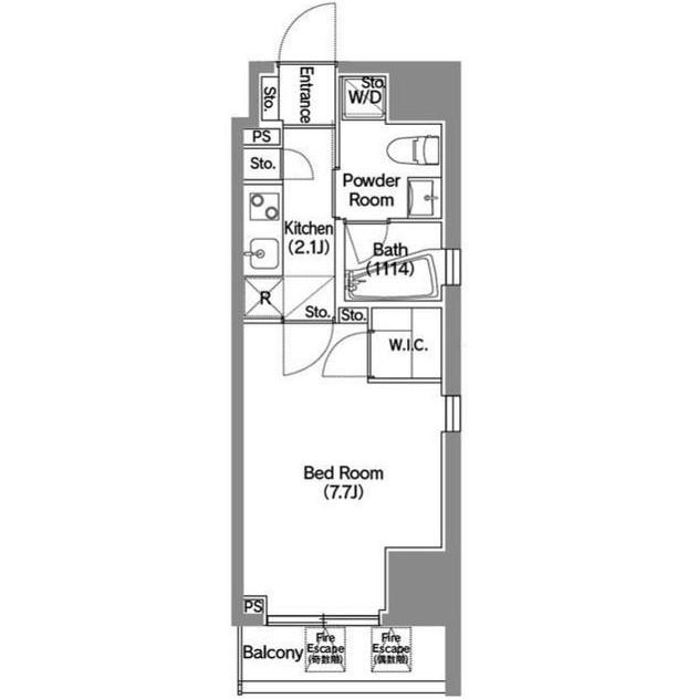 アジールコート新宿1103号室