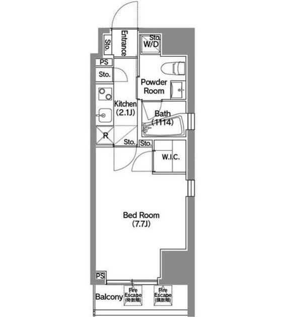 アジールコート新宿1203号室