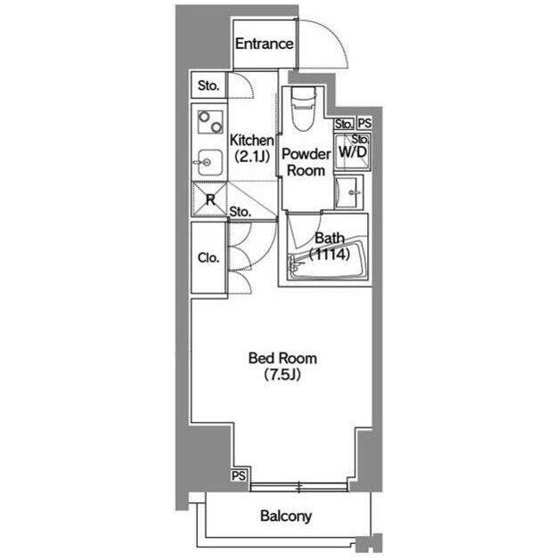 アジールコート新宿601号室
