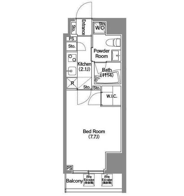 アジールコート新宿603号室
