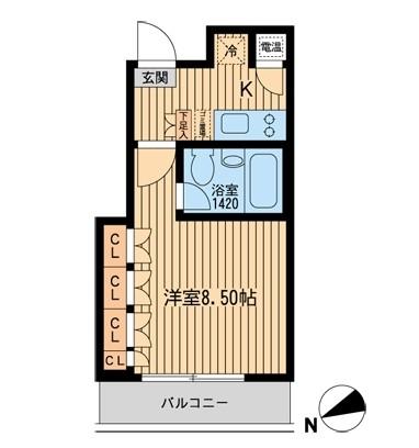 HF芝公園レジデンス402号室