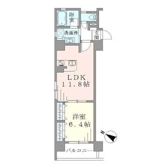ラキャリラット日本橋1001号室