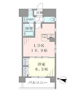 ラキャリラット日本橋603号室