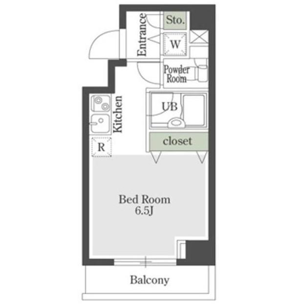 プレミアステージ芝公園Ⅱ1001号室
