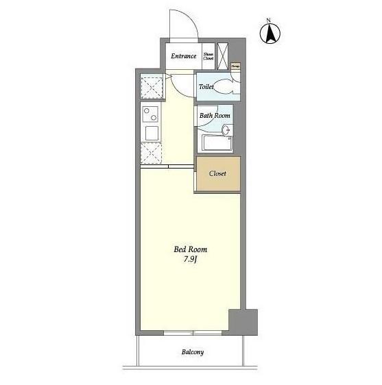 プレミアステージ芝公園Ⅱ1005号室