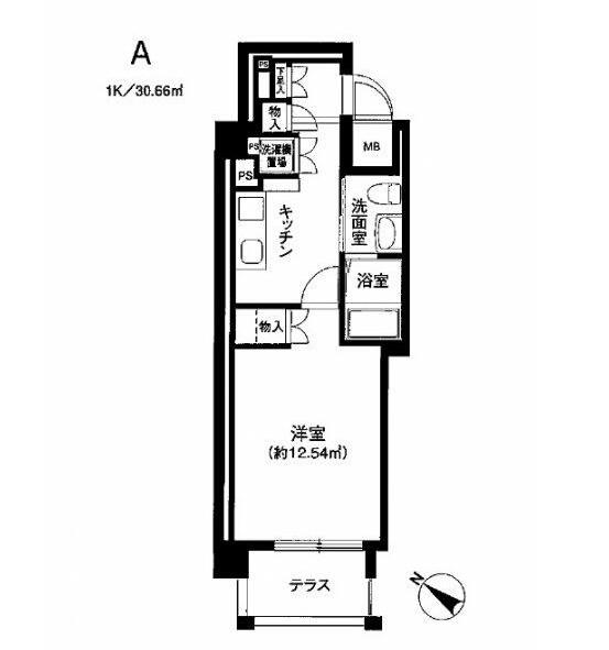 オリンピア代々木101号室