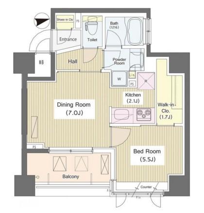 i-Suite HigashiNakano611号室