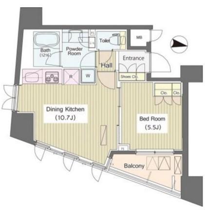 i-Suite HigashiNakano805号室