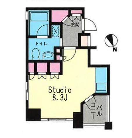プライムアーバン恵比寿Ⅱ603号室