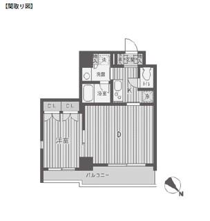 パークフラッツ渋谷代官山501号室