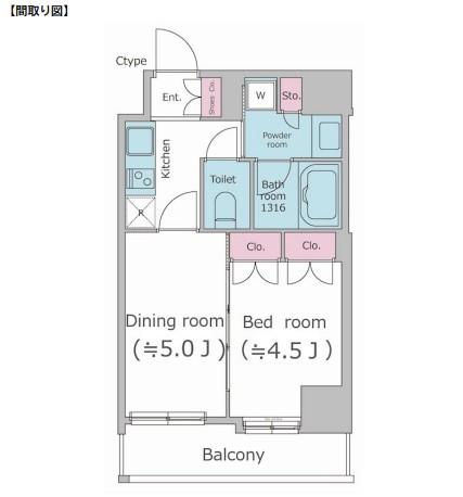 パークフラッツ渋谷代官山702号室