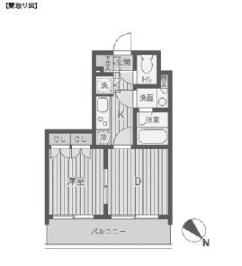 パークフラッツ渋谷代官山803号室