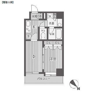 ベルフェリーク渋谷代官山804号室