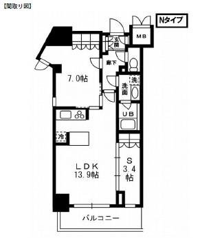 レジディア杉並方南町327号室