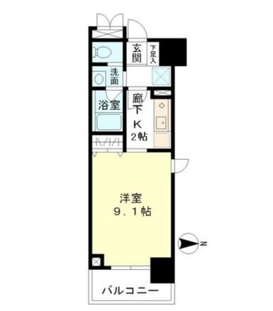 マイプレジール広尾204号室
