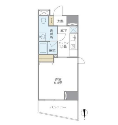 マイプレジール広尾206号室