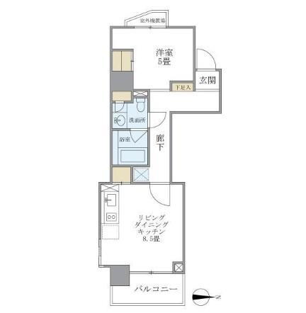 マイプレジール広尾301号室