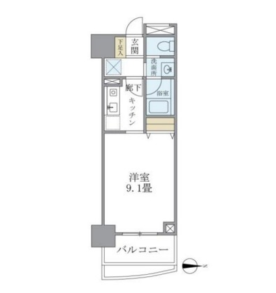 マイプレジール広尾303号室