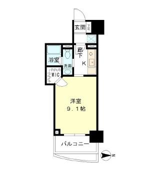 マイプレジール広尾402号室