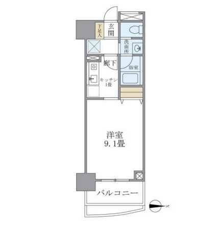 マイプレジール広尾403号室