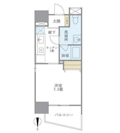 マイプレジール広尾505号室