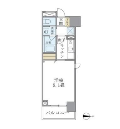 マイプレジール広尾604号室