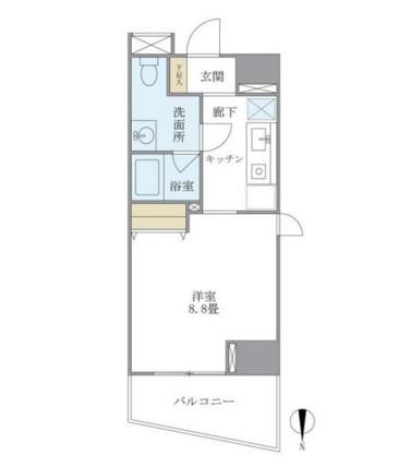 マイプレジール広尾606号室