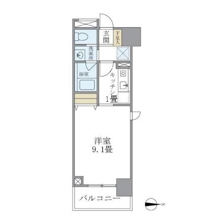 マイプレジール広尾704号室