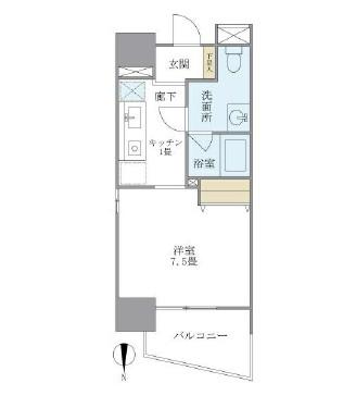 マイプレジール広尾705号室