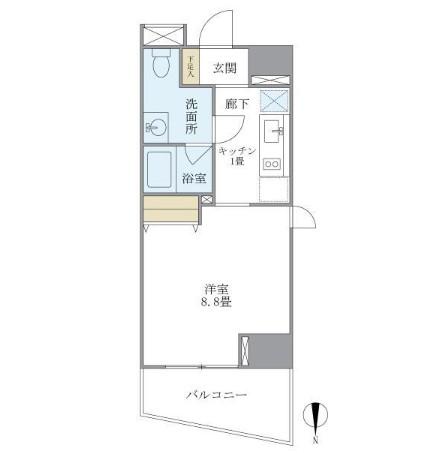 マイプレジール広尾806号室