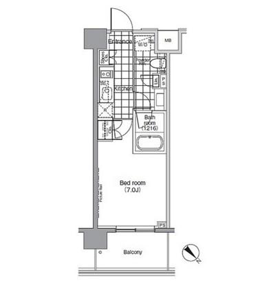 パークハビオ赤坂803号室