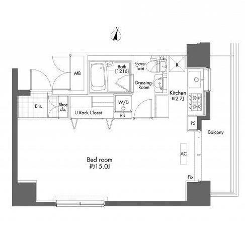 プライムアーバン初台801号室