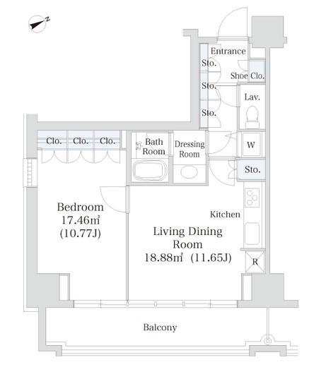 オークコート1006号室