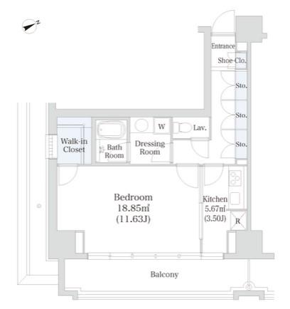 オークコート307号室