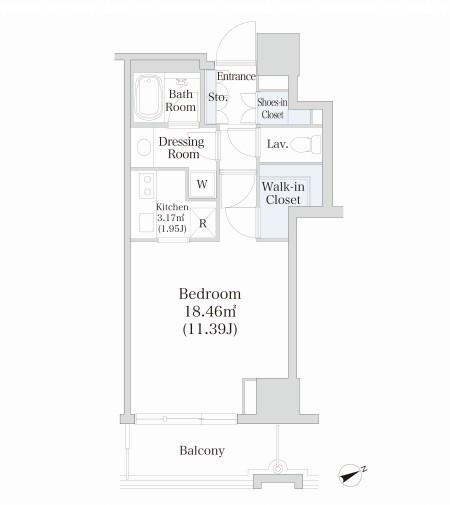 オークコート603号室
