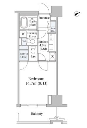 オークコート605号室