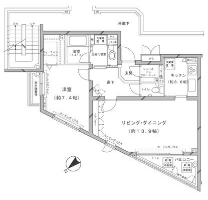 MFPRコート代官山201号室
