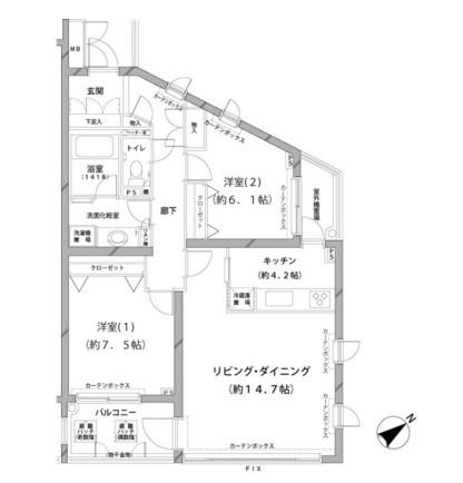 MFPRコート代官山218号室