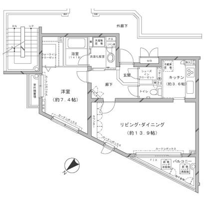 MFPRコート代官山301号室