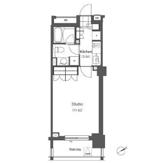 アパートメンツ浅草橋リバーサイド603号室