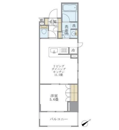 アパートメンツ浅草橋リバーサイド605号室