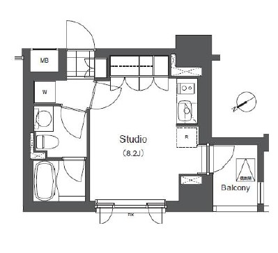 アパートメンツ浅草橋リバーサイド606号室
