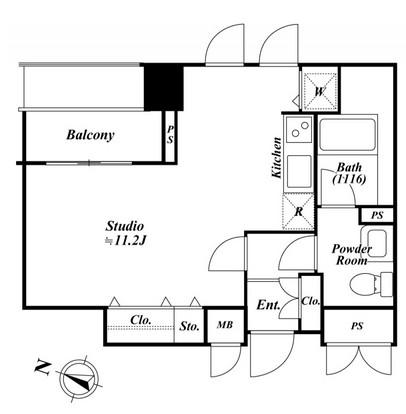 アクロス目黒タワー1708号室
