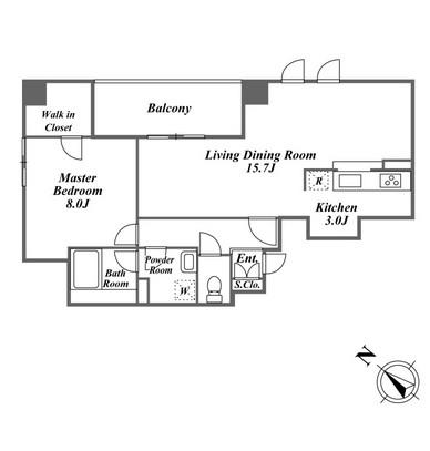 アクロス目黒タワー2006号室